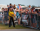 funny car, Camry, J.R. Todd, DHL, fans