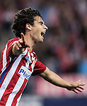 Tiago Cardoso Mendes of Atletico de Madrid celebrates during their La Liga match between Atletico de Madrid and Granada CF at the Vicente Calderon Stadium on 15 October 2016 in Madrid, Spain. Photo by Diego Gonzalez Souto / Power Sport Images