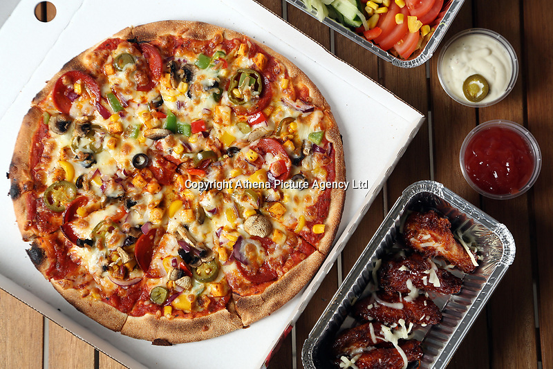 Popeye Pizza in the Uplands area of Swansea, Wales, UK. Friday 13 October 2017