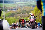 Picture by Shaun Flannery/SWpix.com - 28/04/2017 - Cycling - 2017 Tour de Yorkshire - Stage 1 - Bridlington to Scarborough<br /> Cote de Garrowby Hill