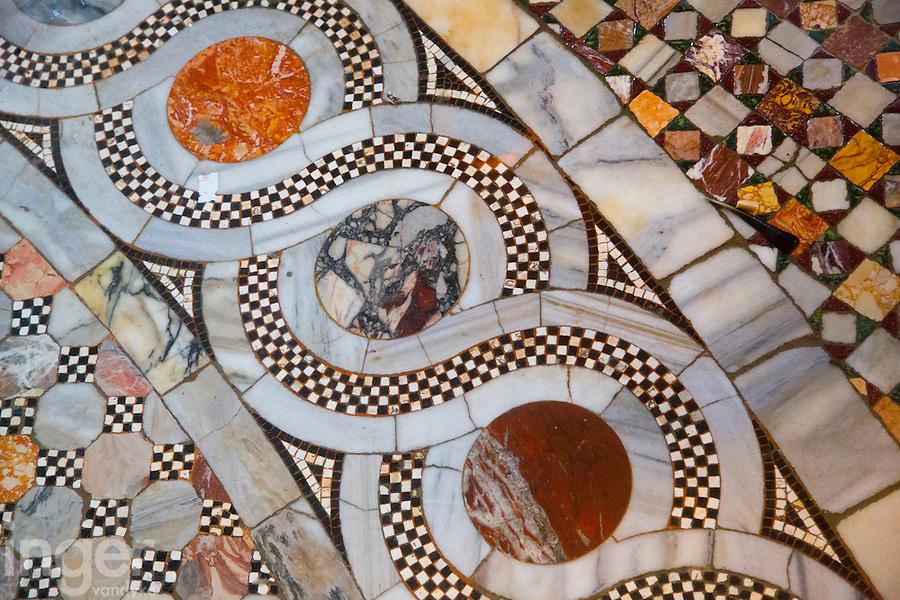 Mosaic Floor inside Saint Mark's Basilica, Venice, Italy