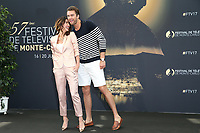 JACQUELINE MAC INNES WOOD, PIERSON FODE - Photocall 'AMOUR GLOIRE ET BEAUTE' - 57ème Festival de la Television de Monte-Carlo. Monte-Carlo, Monaco, 18/06/2017. # 57EME FESTIVAL DE LA TELEVISION DE MONTE-CARLO - PHOTOCALL 'AMOUR GLOIRE ET BEAUTE'