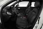 Front seat view of 2020 Fiat 500X Sport 5 Door SUV Front Seat  car photos