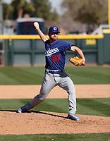 Ryan Moseley - Los Angeles Dodgers 2019 spring training (Bill Mitchell)