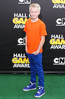 SANTA MONICA, CA, USA - FEBRUARY 15: Carson Lueders at the 4th Annual Cartoon Network Hall Of Game Awards held at Barker Hangar on February 15, 2014 in Santa Monica, California, United States. (Photo by David Acosta/Celebrity Monitor)