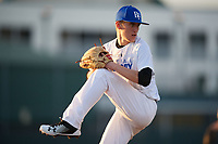 Tyler Lafortune (63), from Folsom, California, while playing for the Royals during the Baseball Factory Pirate City Christmas Camp & Tournament on December 27, 2017 at Pirate City in Bradenton, Florida.  (Mike Janes/Four Seam Images)