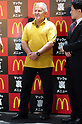 Soccer legend Zico attends promotional event for McDonald's burgers