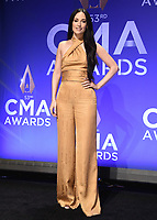 NASHVILLE, TN - NOVEMBER 13:  Kacey Musgraves in the press room at the 53rd Annual CMA Awards at the Bridgestone Arena on November 13, 2019 in Nashville, Tennessee. (Photo by Scott Kirkland/PictureGroup)