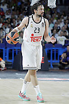 Real Madrid's Sergio Llull during Euroleague Semifinal match. May 15,2015. (ALTERPHOTOS/Acero)