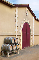 Winery building. Chateau de Haux, Bordeaux, France