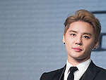 """Jun-Su (JYJ), Jul 11, 2016 : XIA (Junsu) attends a news conference promoting a new musical """"Dorian Gray"""" in Seoul, South Korea. The musical is based on Oscar Wilde's novel """"The Picture of Dorian Gray"""" and Junsu will play the lead role Dorian Gray. The creative musical will be opened at Seongnam Arts Center's Opera House in South Korea on September 3, 2016. (Photo by Lee Jae- Won/AFLO) (SOUTH KOREA)"""