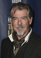 "LOS ANGELES - JANUARY 22:  Pierce Brosnan at the opening night of ""The Last Ship"" on January 22, 2020 at the Ahmanson Theatre in Los Angeles, California. (Photo by Scott Kirkland/PictureGroup)"