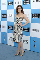 Amy Adams.2007 Film Independent's Spirit Awards.On the Beach.Santa Monica, CA.February 24, 2007.©2007 Kathy Hutchins / Hutchins Photo....