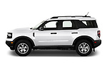 Car Driver side profile view of a 2021 Ford Bronco-Sport Base 5 Door SUV Side View