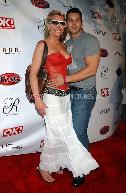 WWW.ACEPIXS.COM . . . . . ....MIAMI, AUGUST 26, 2005....Kristin Kirchner and Chris Carson at the Vogue Eyewear and Bang Vodka's Star Struck Party held at the Style Villa at Sagamore Hotel.....Please byline: KRISTIN CALLAHAN - ACE PICTURES.. . . . . . ..Ace Pictures, Inc:  ..Craig Ashby (212) 243-8787..e-mail: picturedesk@acepixs.com..web: http://www.acepixs.com