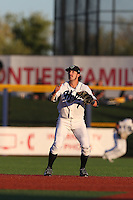 First overall draft pick in the 2015 Major League Baseball Player Draft, Dansby Swanson (7) of the Hillsboro Hops in the field during a game against the Boise Hawks at Ron Tonkin Field on August 21, 2015 in Hillsboro, Oregon. Boise defeated Hillsboro, 7-1. (Larry Goren/Four Seam Images)