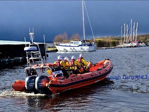 Lough Derg RNLI's inshore lifeboat Jean Spier