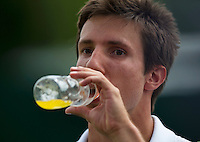 England, London, 26.06.2014. Tennis, Wimbledon, AELTC, Igor Sijsling (NED)<br /> Photo: Tennisimages/Henk Koster
