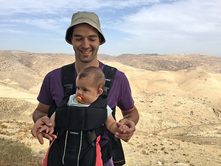 Canadian medical student spends a year with his family in Nofei Prat, a settlement in the West Bank