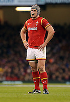 Jonathan Davies of Wales during the Wales v France, 2016 RBS 6 Nations Championship, at the Principality Stadium, Cardiff, Wales, UK