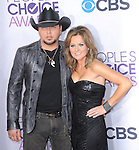 Jason Aldean and Jessica Aldean at The 2013 People's Choice Awards held at Nokia Live in Los Angeles, California on January 09,2013                                                                   Copyright 2013 Hollywood Press Agency