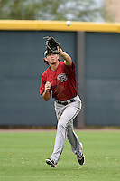 Arizona Diamondbacks outfielder Dane McFarland (35) during an Instructional League game against the Colorado Rockies on October 8, 2014 at Salt River Fields at Talking Stick in Scottsdale, Arizona.  (Mike Janes/Four Seam Images)