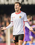 Jose Luis Gaya Pena of Valencia CF reacts during their La Liga match between Valencia CF and Real Madrid at the Estadio de Mestalla on 22 February 2017 in Valencia, Spain. Photo by Maria Jose Segovia Carmona / Power Sport Images