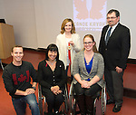 FEBRUARY 26, 2016, TORONTO, ON; Team Canada Chef de Mission for the 2016 Paralympic Team, Chantal Petitclerc vists PaddleAll, Western Ontario Division of CanoeKayak Canada.  Photo: Dan Galbraith / Canadian Paralympic Committee