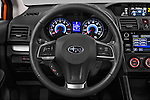 Car pictures of steering wheel view of a 2015 Subaru XV-Crosstrek Premium 5 Door SUV Steering Wheel