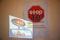 Italy. Lombardy region. Milan. Stop TB Partnership. The Istituto Villa Marelli is specialised with TB issues. Prevention of tuberculosis. 6.12.2011 © WHO /Didier Ruef