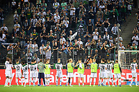 Round of honor Team MG in front of the fans in Borussia-Park Soccer 1. Bundesliga, 1st matchday, Borussia Monchengladbach (MG) - FC Bayern Munich (M) 1: 1, on August 13, 2021 in Borussia Monchengladbach / Germany. #DFL regulations prohibit any use of photographs as image sequences and / or quasi-video # Â
