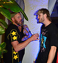 MIAMI BEACH, FL - APRIL 18: Gregory Allan Paul and Logan Paul attend Jake Paul afterparty hosted hosted by Celebrity Sports Entertainment (CSE) at The Villa Casa Casuarina At The Former Versace Mansion on April 18, 2021 in Miami Beach, Florida. Jake Paul made an appearance to his afterparty to celebrate his win after defeating Ben Askren in a first round TKO bout yesterday inside Mercedes-Benz Stadium in Atlanta.  ( Photo by Johnny Louis / jlnphotography.com )