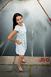Paley's Summer Pre-Bat Mitzvah Portrait Photography At Home and At The Lake