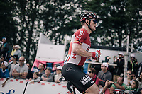 André Greipel (DEU/Lotto-Soudal) grabbing a last bidon up the Mur de Péguère (Cat1/1375m/9.3km/7.9%)<br /> <br /> 104th Tour de France 2017<br /> Stage 13 - Saint-Girons › Foix (100km)