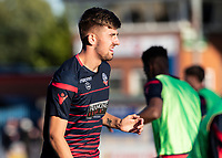Bolton Wanderers' Jordan Boon warming up before the match <br /> <br /> Photographer Andrew Kearns/CameraSport<br /> <br /> The Carabao Cup First Round - Rochdale v Bolton Wanderers - Tuesday 13th August 2019 - Spotland Stadium - Rochdale<br />  <br /> World Copyright © 2019 CameraSport. All rights reserved. 43 Linden Ave. Countesthorpe. Leicester. England. LE8 5PG - Tel: +44 (0) 116 277 4147 - admin@camerasport.com - www.camerasport.com