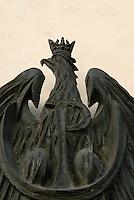 Poland, Krakow, Polish eagle crest