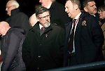 Hearts v St Johnstone…05.11.16  Tynecastle   SPFL<br />Craig Levein  before kick off<br />Picture by Graeme Hart.<br />Copyright Perthshire Picture Agency<br />Tel: 01738 623350  Mobile: 07990 594431