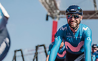 Alejandro Valverde (ESP/Team Movistar) pre race. <br /> <br /> 53th Amstel Gold Race (1.UWT)<br /> 1 Day Race: Maastricht > Berg en Terblijt (263km)