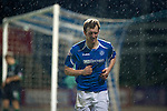 St Johnstone v Hibernian...26.11.11   SPL .Liam Craig battles against the horrible weather conditions.Picture by Graeme Hart..Copyright Perthshire Picture Agency.Tel: 01738 623350  Mobile: 07990 594431