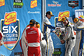 IMSA WeatherTech SportsCar Championship<br /> Sahlen's Six Hours of the Glen<br /> Watkins Glen International, Watkins Glen, NY USA<br /> Sunday 2 July 2017<br /> 93, Acura, Acura NSX, GTD, Andy Lally, Katherine Legge<br /> World Copyright: Richard Dole/LAT Images<br /> ref: Digital Image RD_WGI_17_569