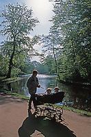 Park Frederiksberg Have in Kopenhagen, Daenemark