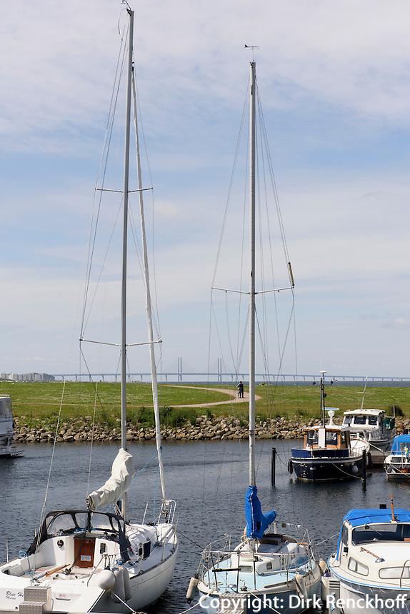 Sportboote am Westhafen,  Malmö, Provinz Skåne (Schonen), Schweden, Europa<br /> sailing boats  at Westport in Malmö, Sweden
