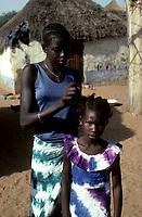 Gossas, Senegal<br /> <br /> (date inconnue)<br /> <br /> PHOTO : Michel Faugere Publiphoto- Agence Quebec Presse