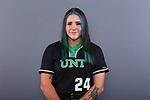 October 31: University of North Texas Mean Green Softball team on October 30, 2020 at Apogee Stadium in Denton, Texas.