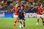(L to R) Anja Thuerig (SUI),Yoko Tanaka (JPN), .AUGUST 26, 2012 - Football / Soccer : .FIFA U-20 Women's World Cup Japan 2012, Group A .match between Japan 4-0 Switzerland .at National Stadium, Tokyo, Japan. .(Photo by Daiju Kitamura/AFLO SPORT)