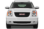 Straight front view of a 2012 GMC Yukon SLE