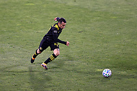 COLUMBUS, OH - DECEMBER 12: Lucas Zelarayan #10 of the Columbus Crew runs with the ball during a game between Seattle Sounders FC and Columbus Crew at MAPFRE Stadium on December 12, 2020 in Columbus, Ohio.