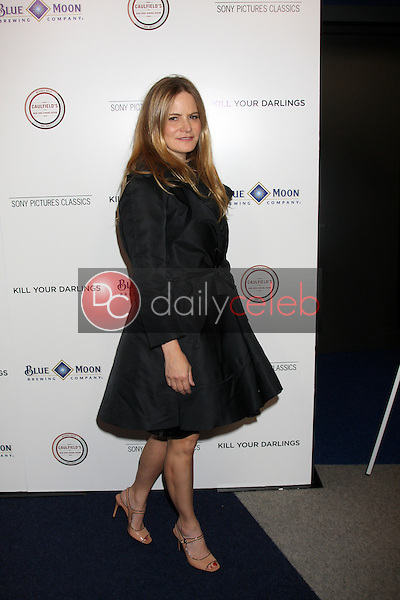 """Jennifer Jason Leigh<br /> at the """"Kill Your Darlings"""" Premiere, Writers Guild Theater, Beverly Hills, CA 10-03-13<br /> David Edwards/DailyCeleb.Com 818-249-4998"""