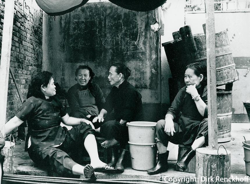 Fischmarkt in Hongkong 1977