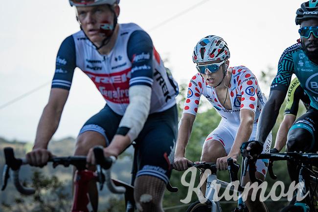 Benoit Cosnefroy (FRA/AG2R-La Mondiale)<br /> <br /> Stage 15 Lyon to Grand Colombier (175km)<br /> <br /> 107th Tour de France 2020 (2.UWT)<br /> (the 'postponed edition' held in september)<br /> <br /> ©kramon
